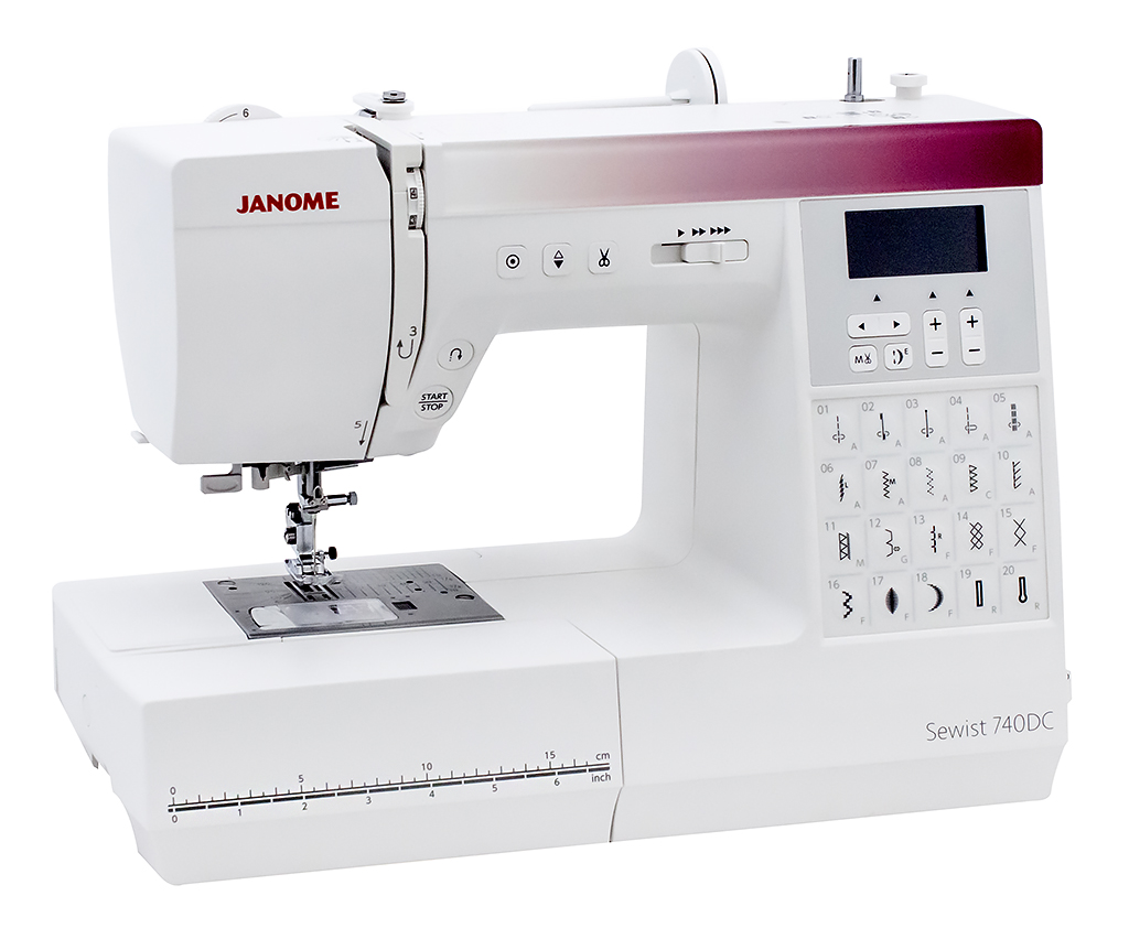 Janome Sewist 740DС